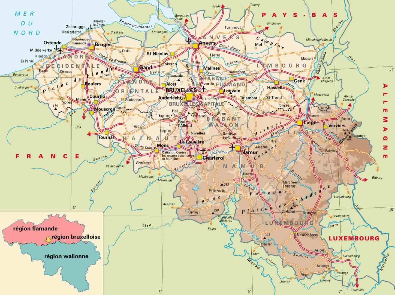 Ardennerna Karta Karta 2020